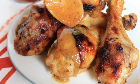 Golden BBQ Chicken   |   #theSHUGAway