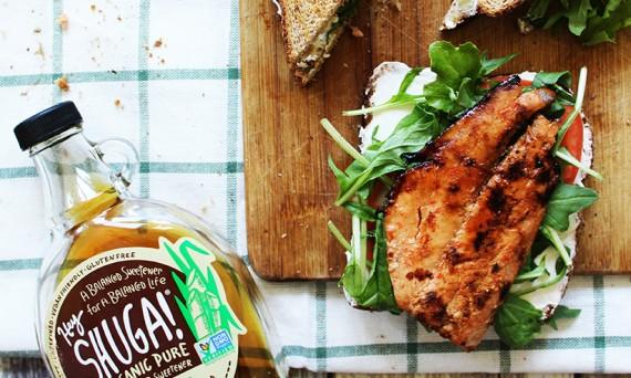 featured salmon sandwich