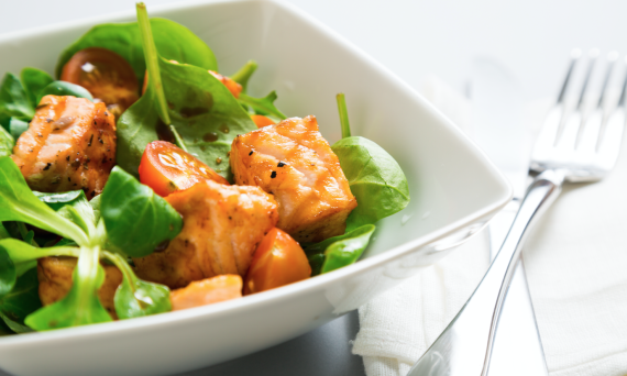 Spinach_salad_salmon_Shuga